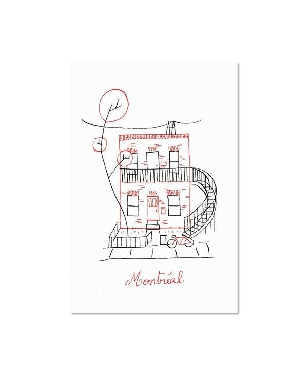 Paperole 8x10 Duplex Art Print