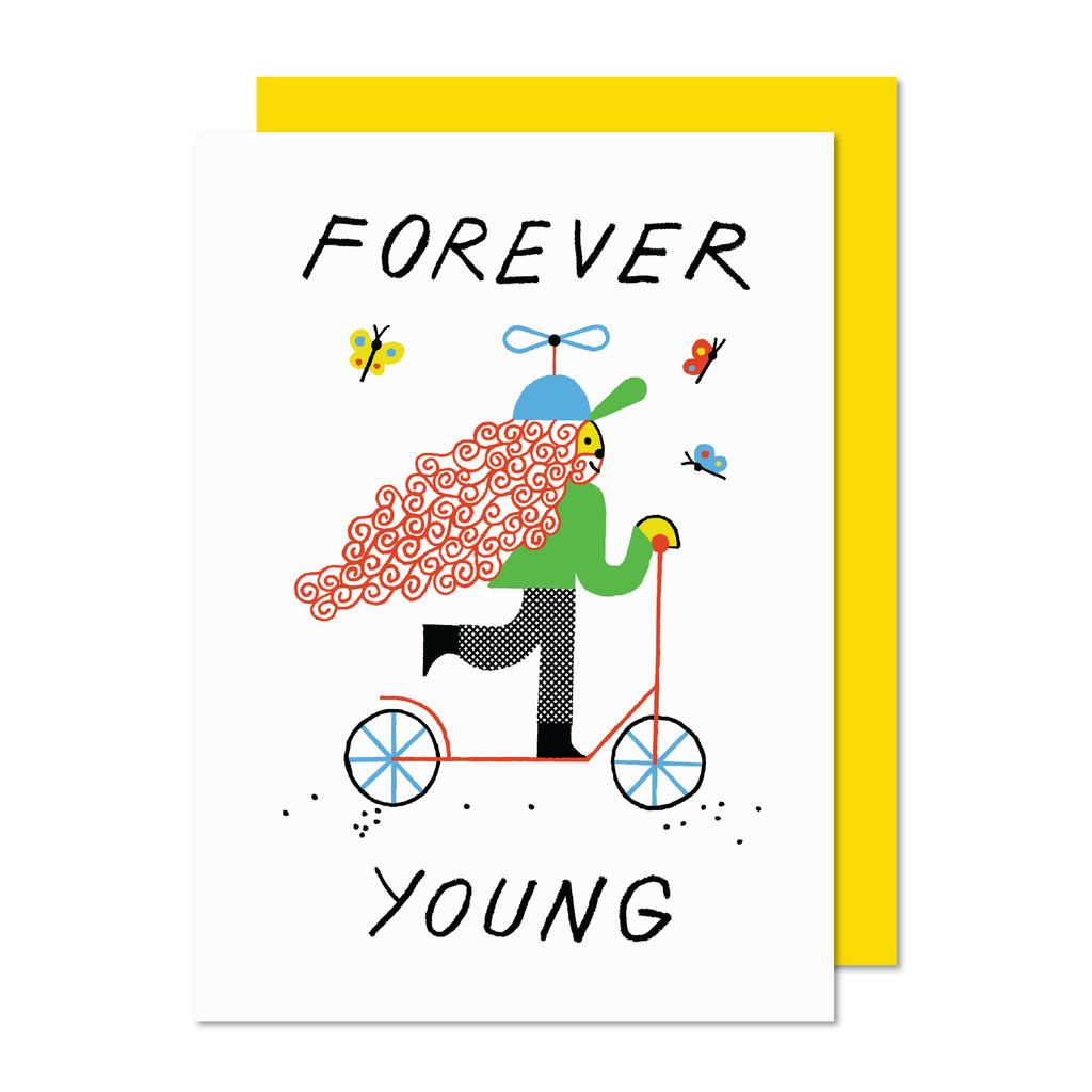 Paperole Paperole Forever Young Greeting Card