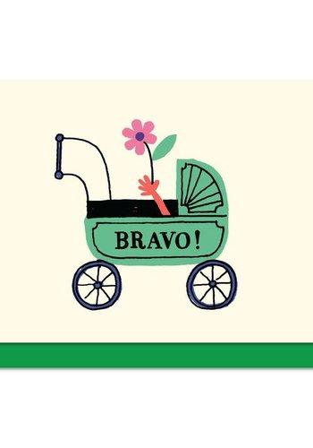 Bravo Greeting Card