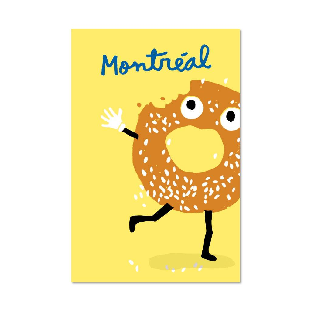 Paperole Paperole Bagel Postcard