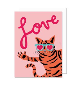 Paperole Love Cat Greeting Card