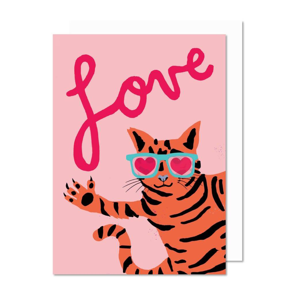 Paperole Paperole Love Cat Greeting Card