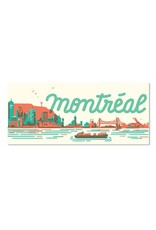 Paperole Paperole MTL Skyline Postcard