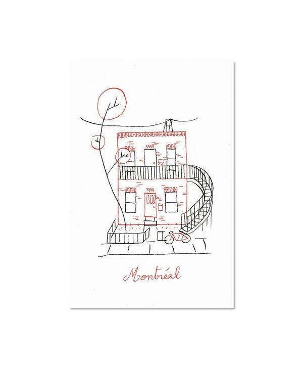 Paperole Duplex Postcard
