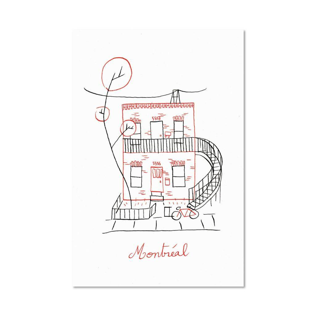 Paperole Paperole Duplex Postcard