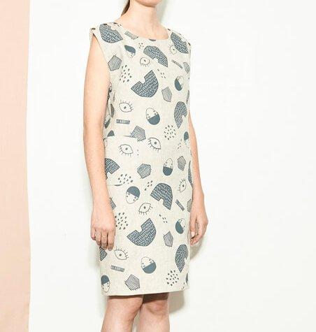 Atelier b Atelier b 1808w Dress - Natural