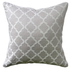 MH Cottesmore -Piped Pillow - Linen - 14x20