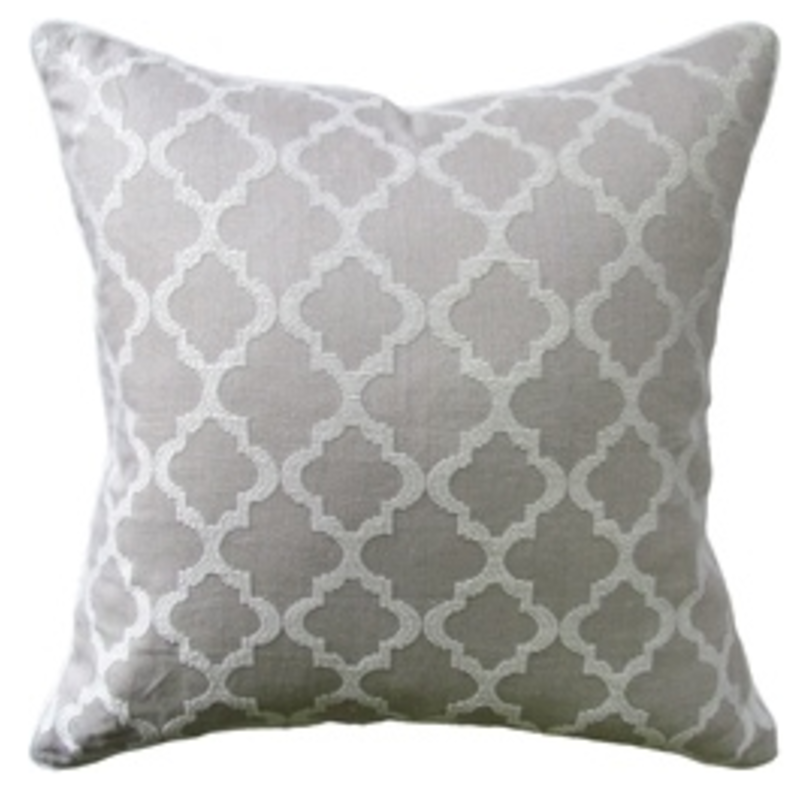 MH Cottesmore - Piped Pillow - Linen - 14x20