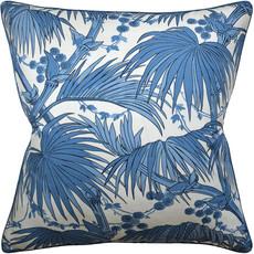 MH Las Palmas - Piped - Pillow - Blue - 22 x 22