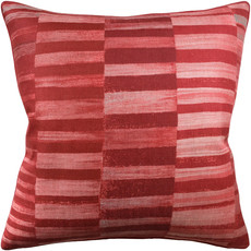 Tansman - Piped - Pillow - Red - 14x20