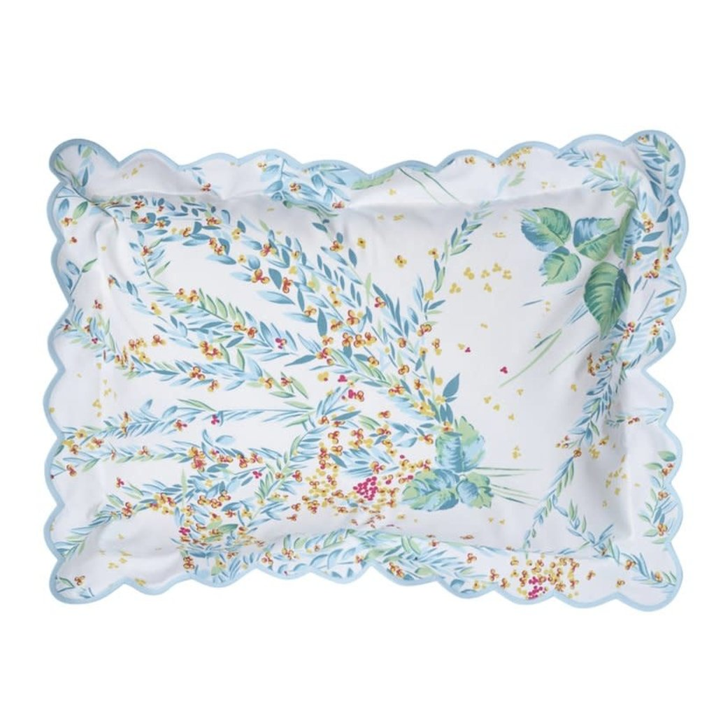 Feuillages et Fleurs - Scalloped - Bedding -