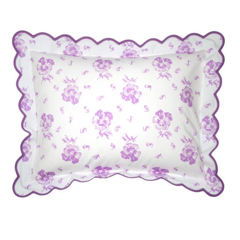 D. Porthault Pensees - Lilac - Boudoir
