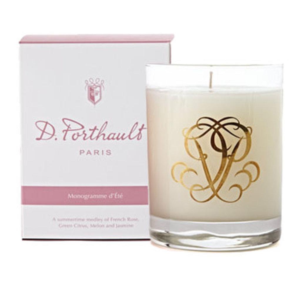 Candle - D. Porthault -  Summer - Été