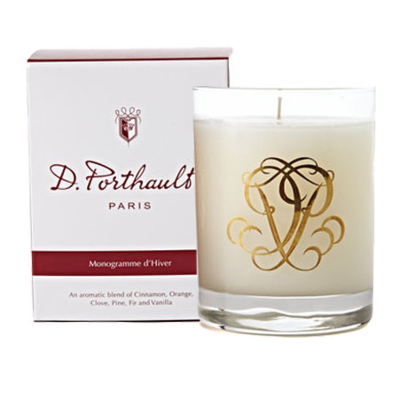 Candle - D. Porthault -  Winter - d'Hiver