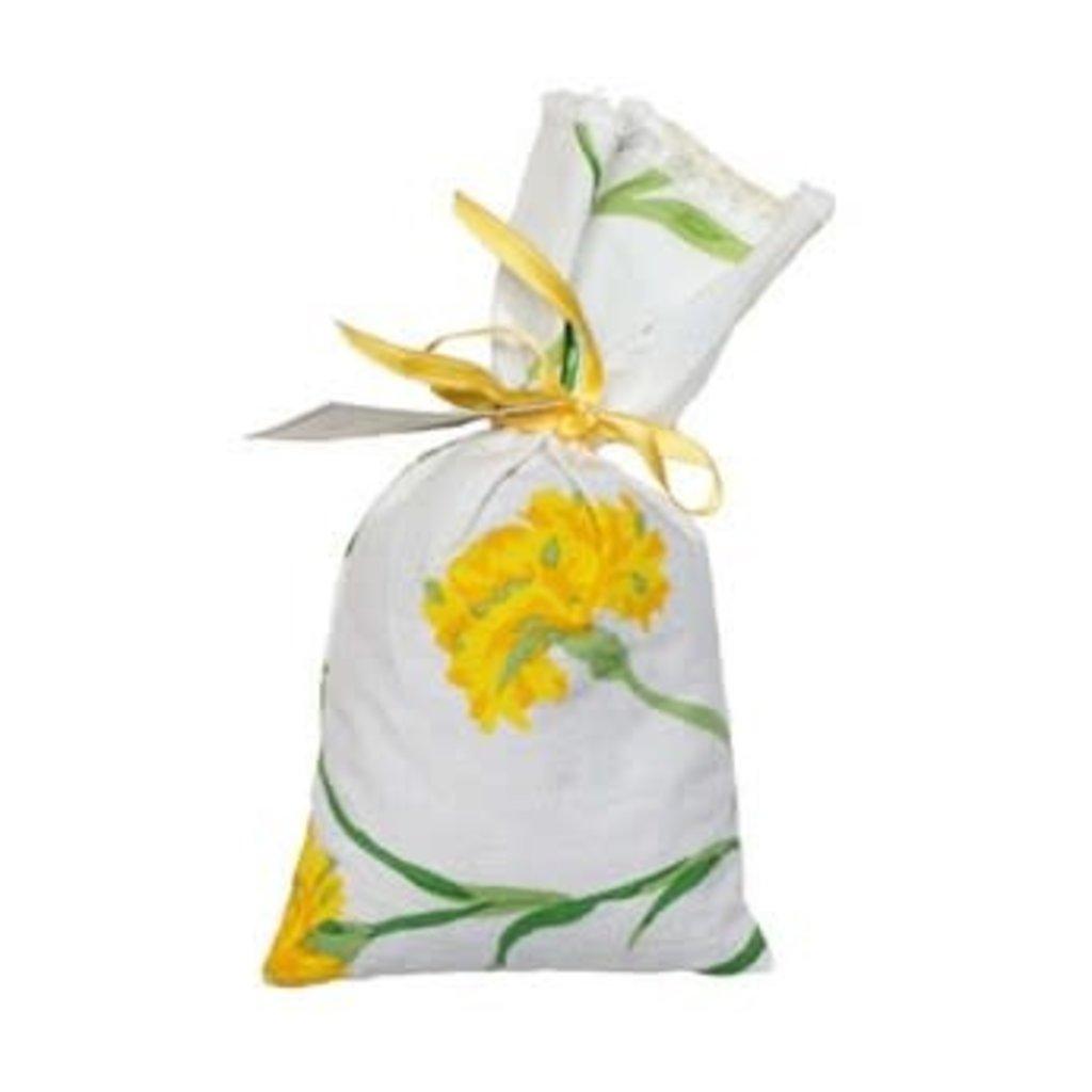 D. Porthault Sachet - Bag - Carnation - Yellow