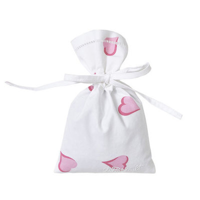Sachet - Bag - Coeurs -