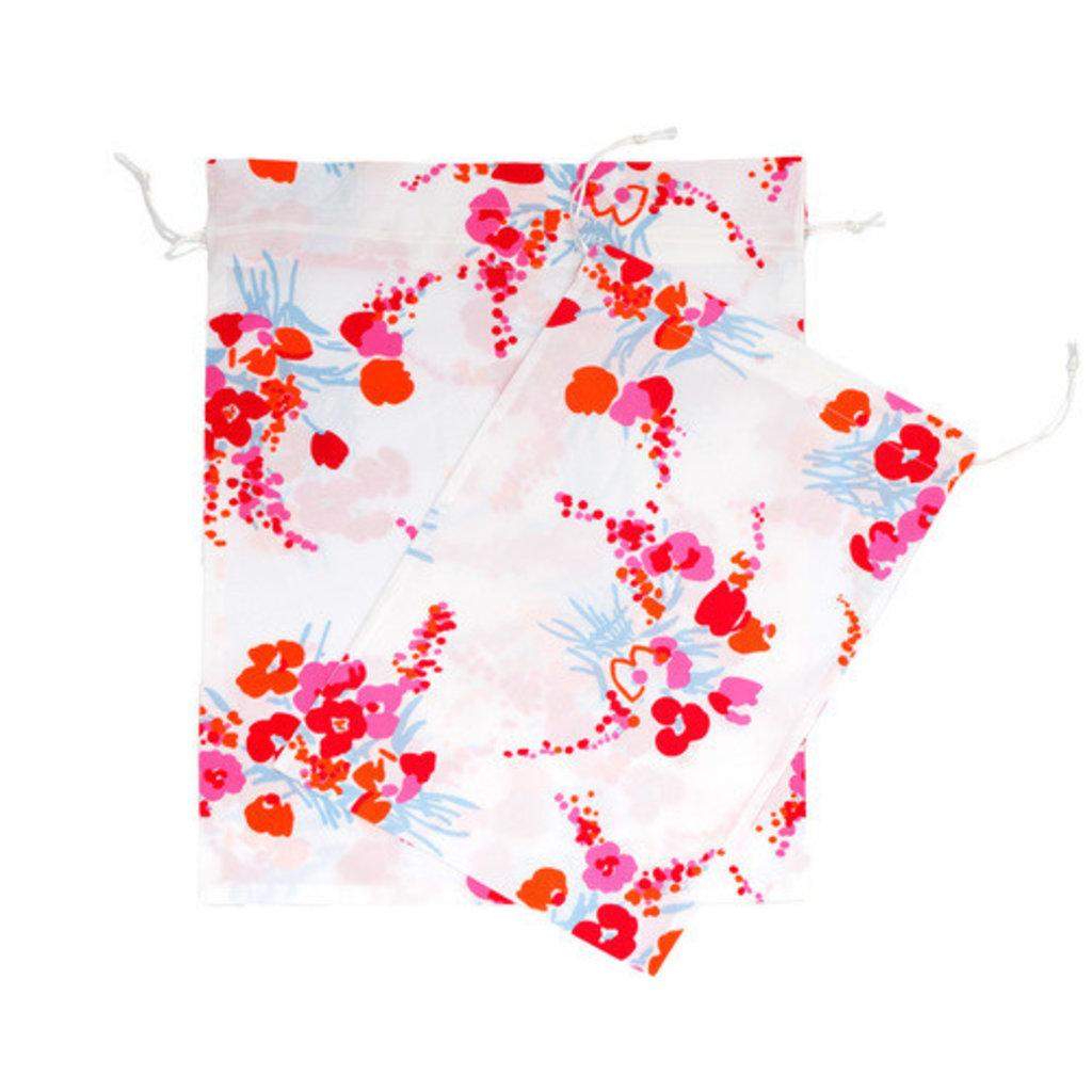 D. Porthault Bag - Lingerie/Shoe - Demoiselles - Pink/Orange -