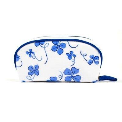 Bag - Trefles - Blue - Laminated -  Mini Zip