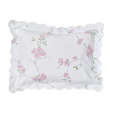 D. Porthault Fleurs de Pecher - Rose - Bedding - Sham - Boudoir