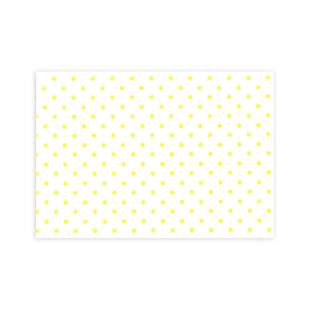 Mini Confetti - Yellow - Bedding