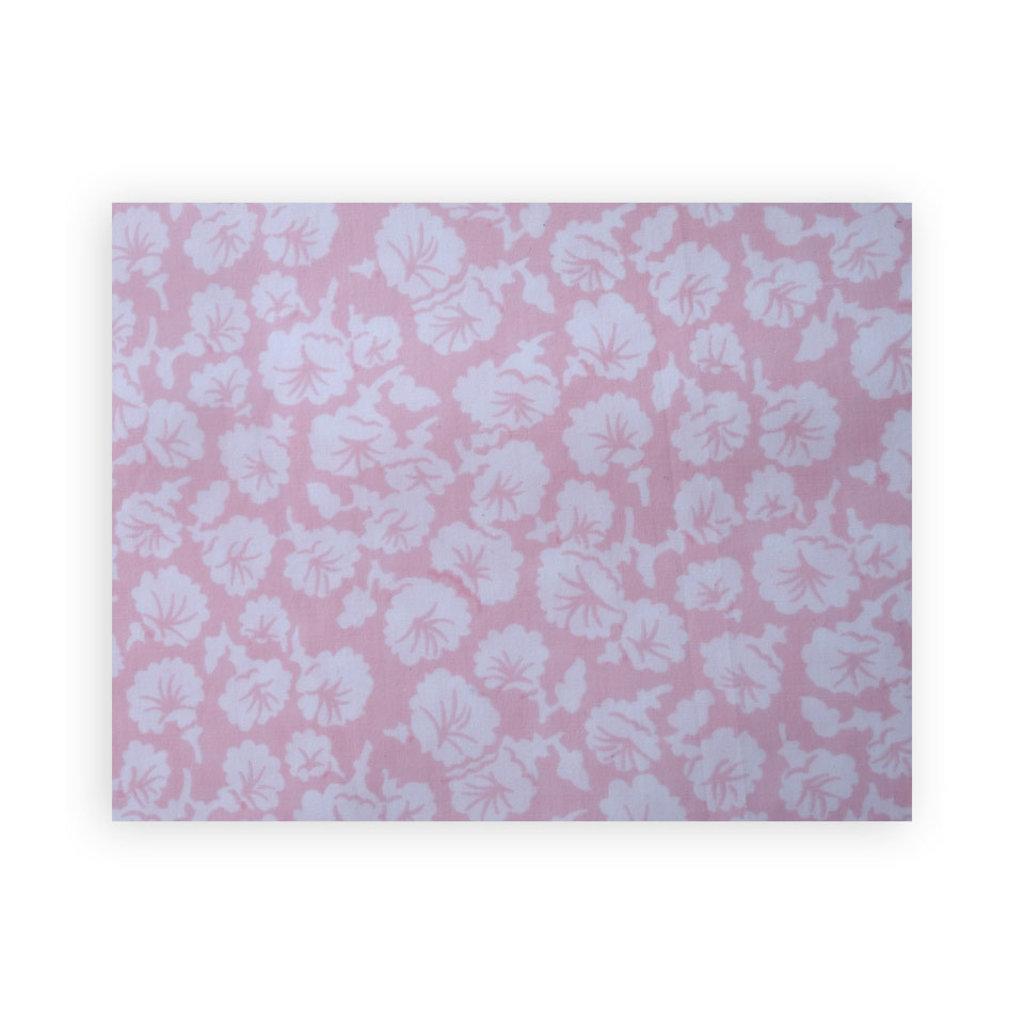 D. Porthault Liserons - Pink - White Scallop - Boudoir