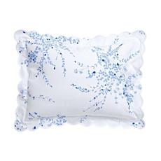 D. Porthault Jete de Fleurs - Blue - Percale - Bedding - Boudoir
