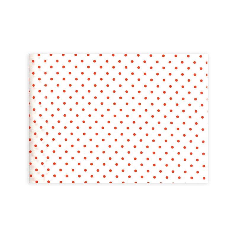 D. Porthault Confettis - Red - Bedding - Boudoir - Voile