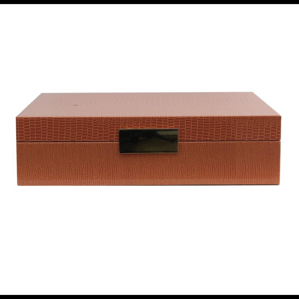 Addison Ross LTD Addison Ross Lacquered Boxes - Croc Pattern
