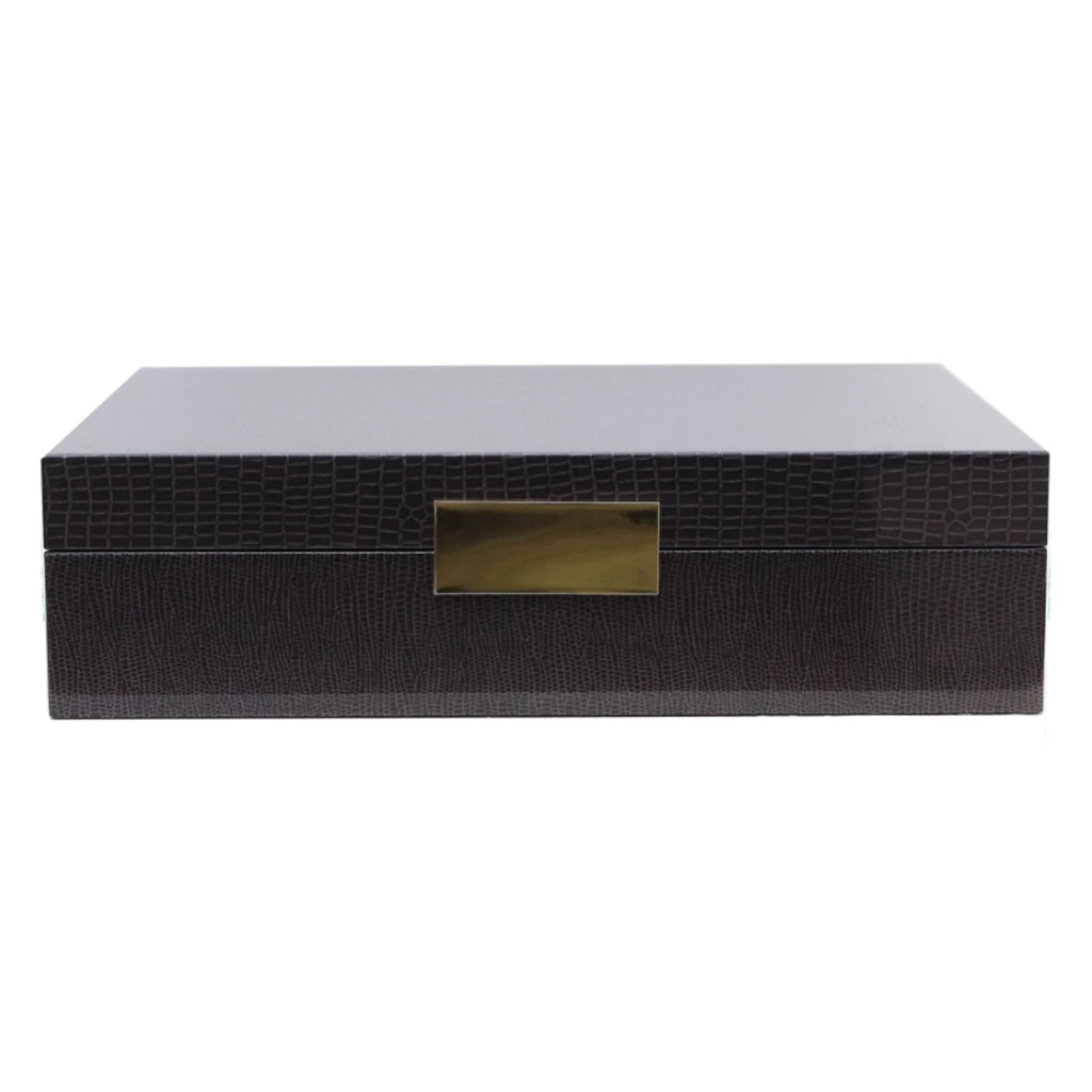 Addison Ross Lacquered Boxes - Croc Pattern