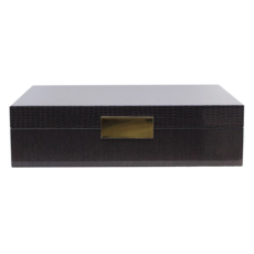 MH Addison Ross Lacquered Boxes - Croc Pattern