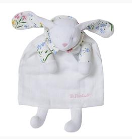 D. Porthault Doudou Bunny/Blanket - Fleurs des Champs