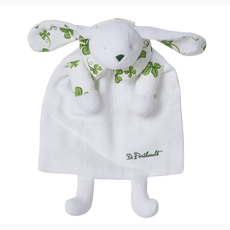 Childrens -  Doudou - Bunny/Blanket - Trefles - Green
