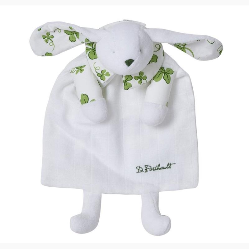 Doudou Bunny/Blanket - Trefles Green