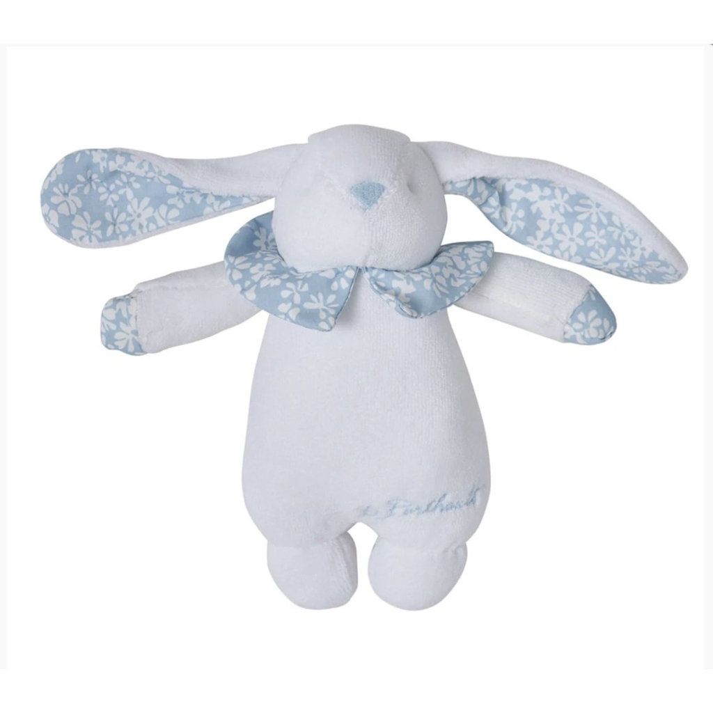 Childrens -  Hochette/Rattle - Bunny - Liberty - Blue