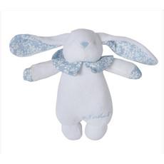 D. Porthault Childrens -  Hochette/Rattle - Bunny - Liberty - Blue