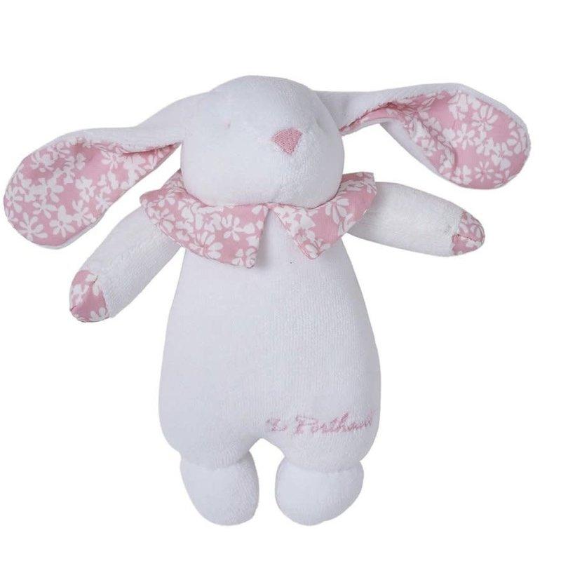 Hochette/Rattle  Bunny - Liberty Pink