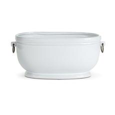 Cachepot - Dawson - Ceramic - White -