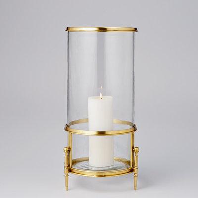 Hurricane/Vase - Regent- Brass