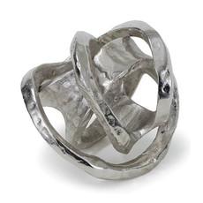 MH Object - Metal Knot - Nickel - 7x7x7