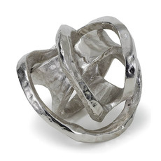 Object - Metal Knot - Nickel - 7x7x7