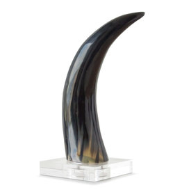 Horn on Crystal Base