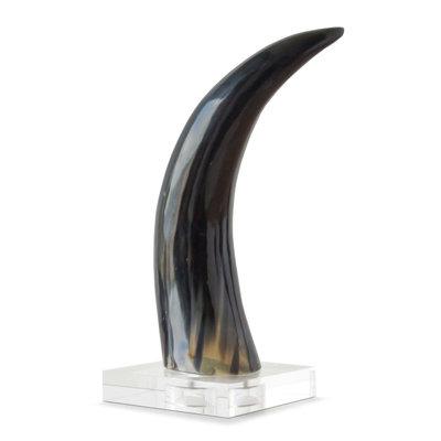 Horn on Crystal Base