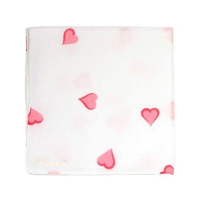 Hankie - Coeurs -  Pink
