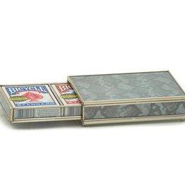 MH Card Box -  Silver Python