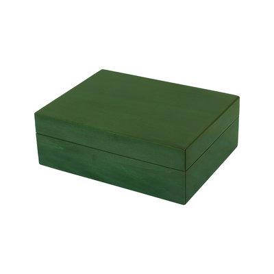 Box - Wood - (8x6x3) -  Green