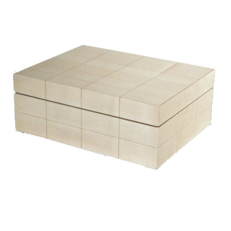 MH Box - Natural Box with Rectangular Blocks