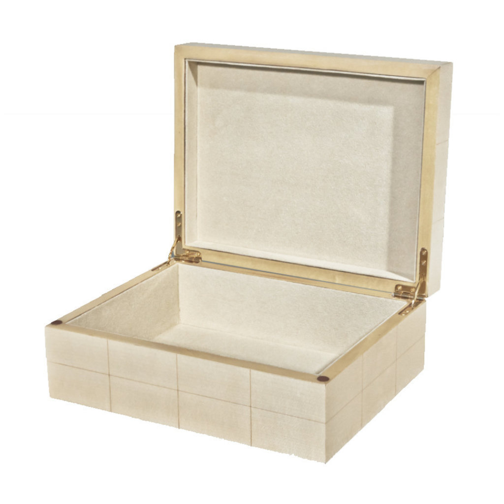 MH Box - Natural Box with Rectangular Blocks