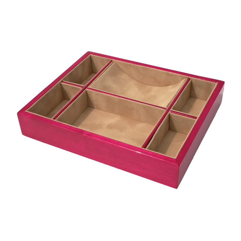 Tizo Design Inc. Valet Tray - Divided -  Multiple Colors