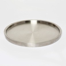 MH Tray - Double Wall Serving - Mate Stainless - 13""