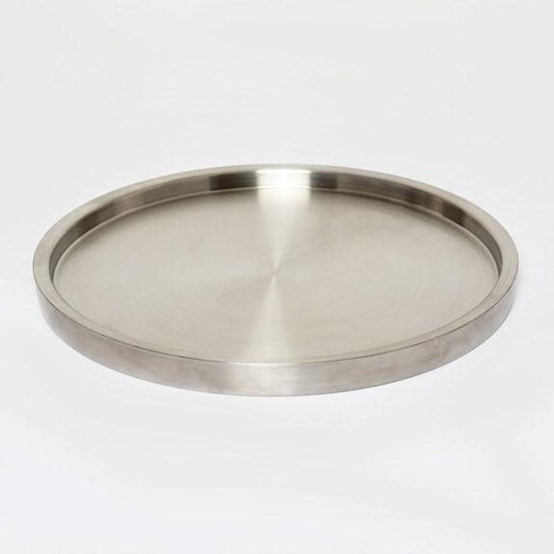 Brouk & Co Tray - Double Wall Serving - Mate Stainless - 13""